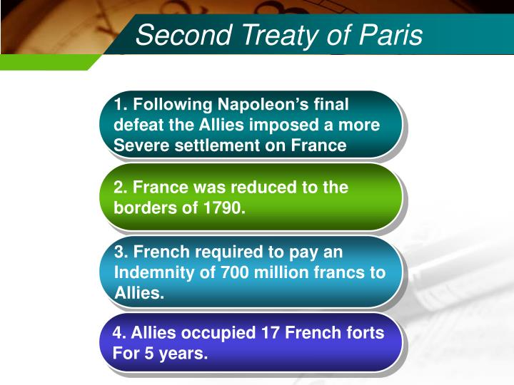 Second Treaty of Paris