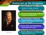 statesmen at the congress