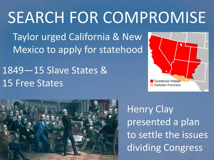 SEARCH FOR COMPROMISE