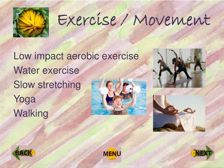 Exercise / Movement