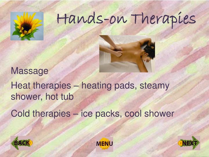 Hands-on Therapies