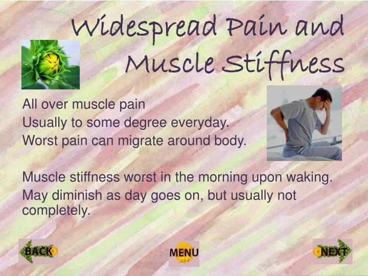 Widespread Pain and