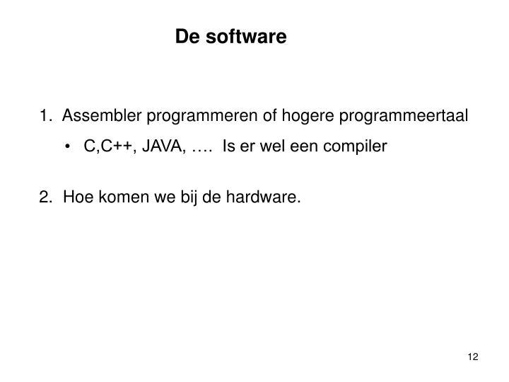 De software