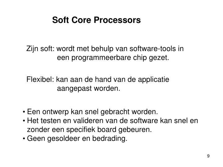 Soft Core Processors