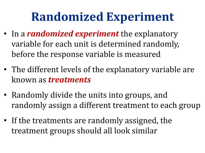 Randomized Experiment