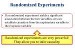 randomized experiments1