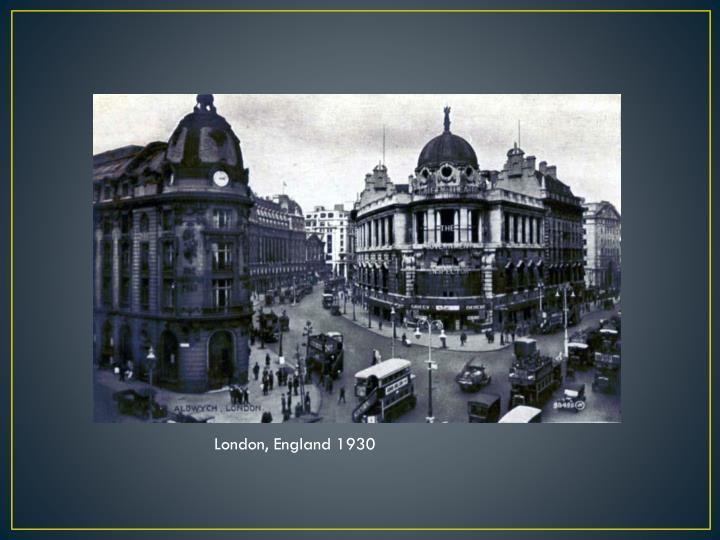 London, England 1930
