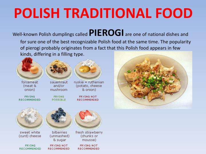 POLISH TRADITIONAL FOOD