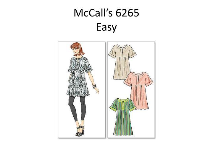 McCall's 6265