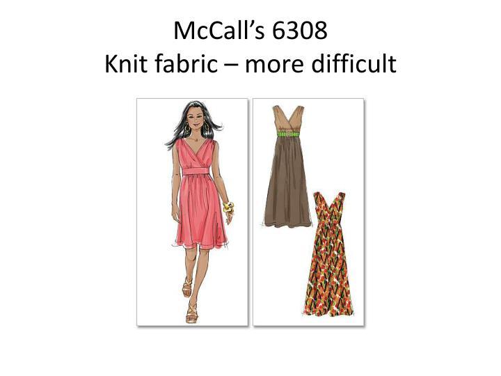 McCall's 6308