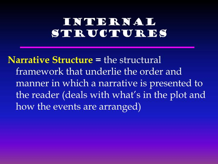 Internal Structures