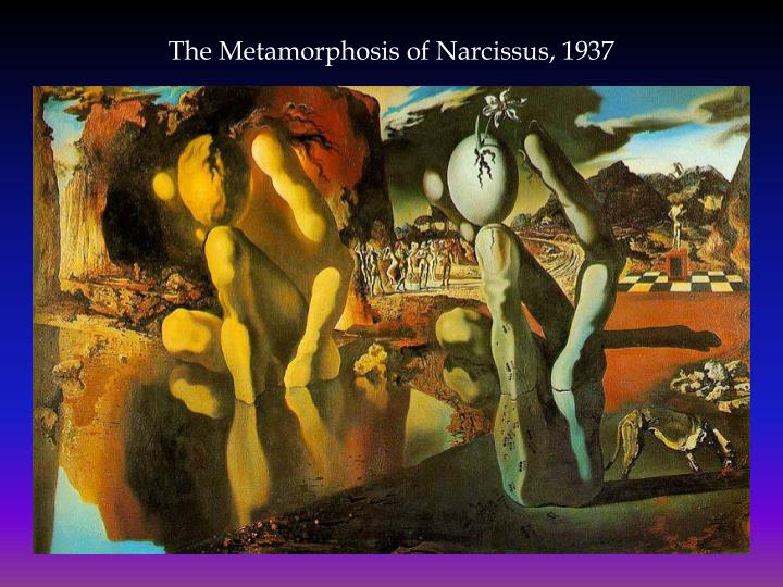 The Metamorphosis of Narcissus, 1937