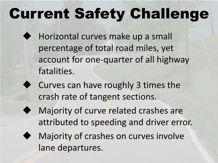 Current Safety Challenge