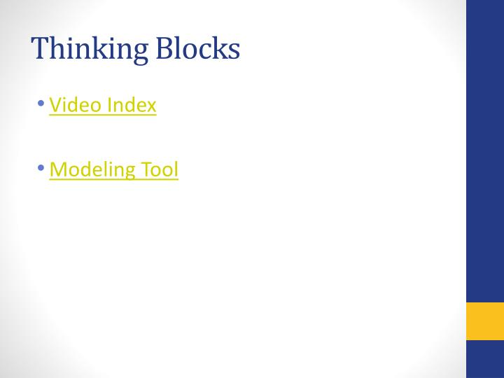 Thinking Blocks