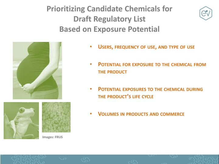Prioritizing Candidate Chemicals for
