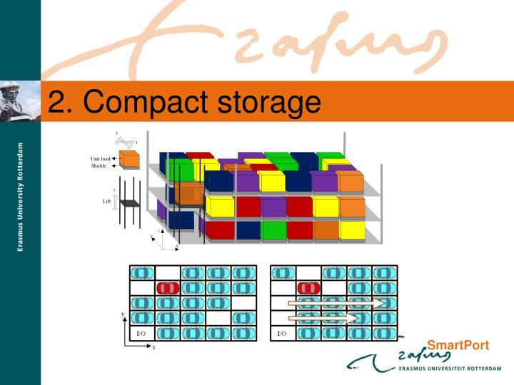 2. Compact storage