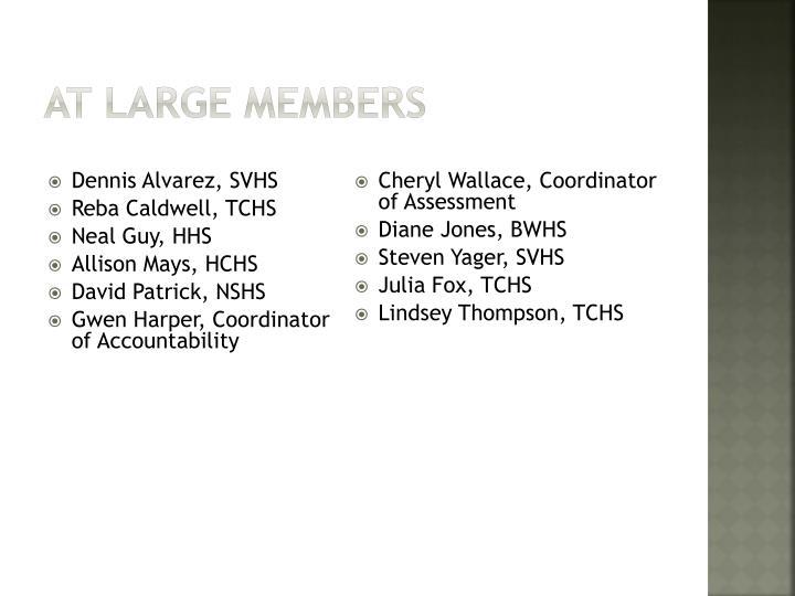 At large members