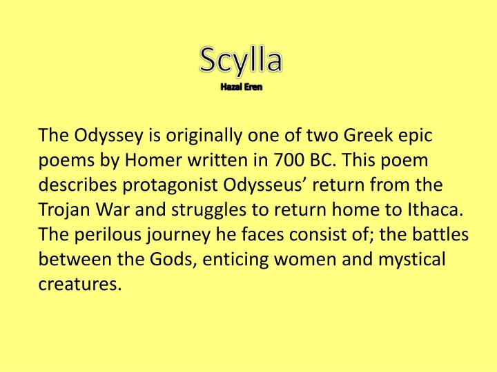 a recount of the trojan war in the odyssey an epic poem by homer