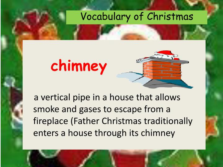 Vocabulary of Christmas