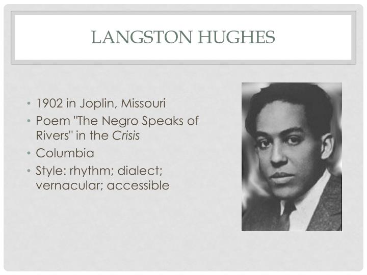 a literary analysis of the protest song by langston hughes Table of contents chapter titles only return to historical writings main page 1-2-2017  after complaints studying white authors actively harms students we provide.