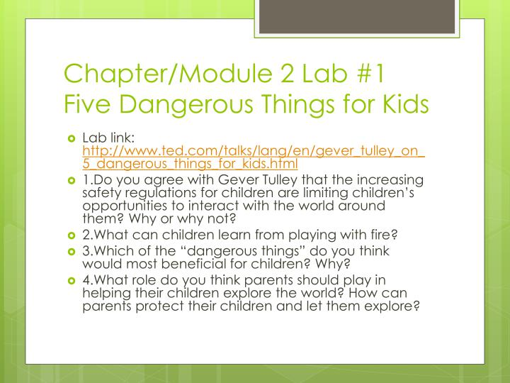 Chapter/Module 2 Lab #1