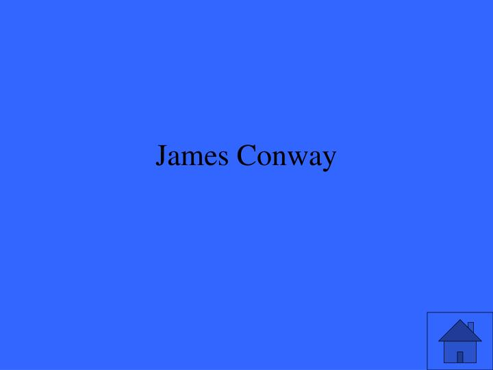 James Conway