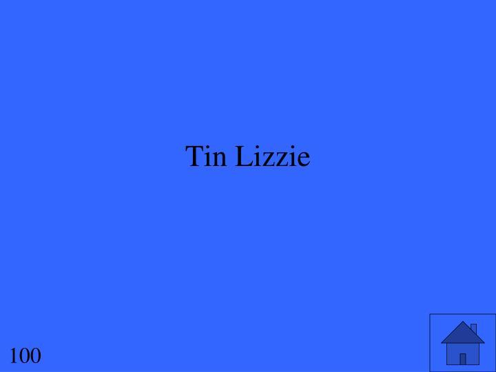 Tin Lizzie