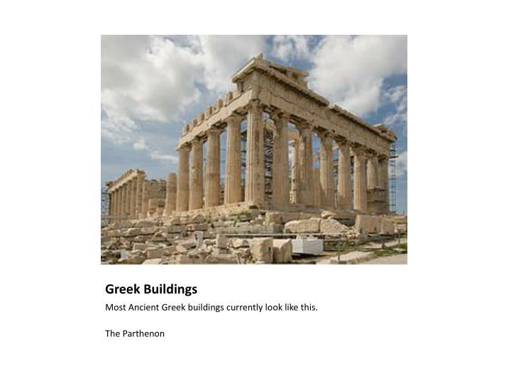 Greek Buildings