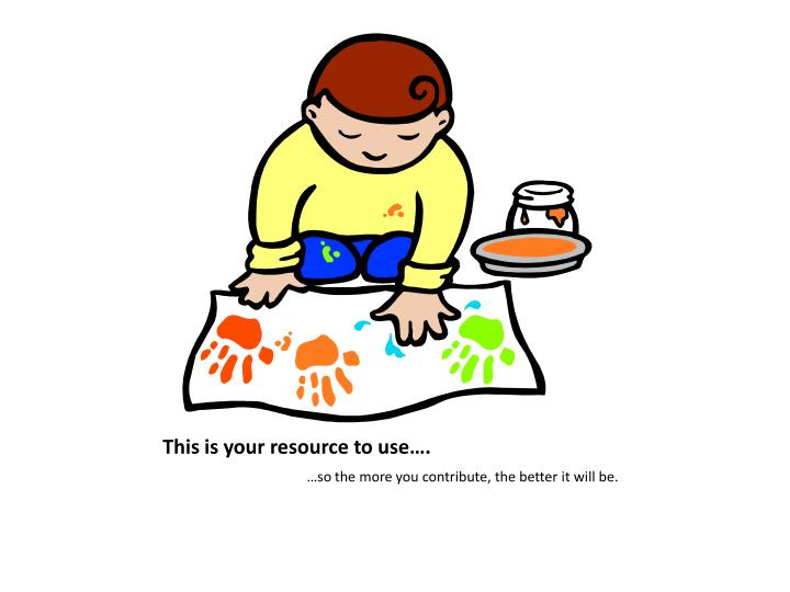 This is your resource to use….