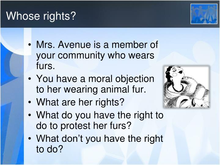 Whose rights?
