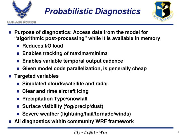 Probabilistic Diagnostics