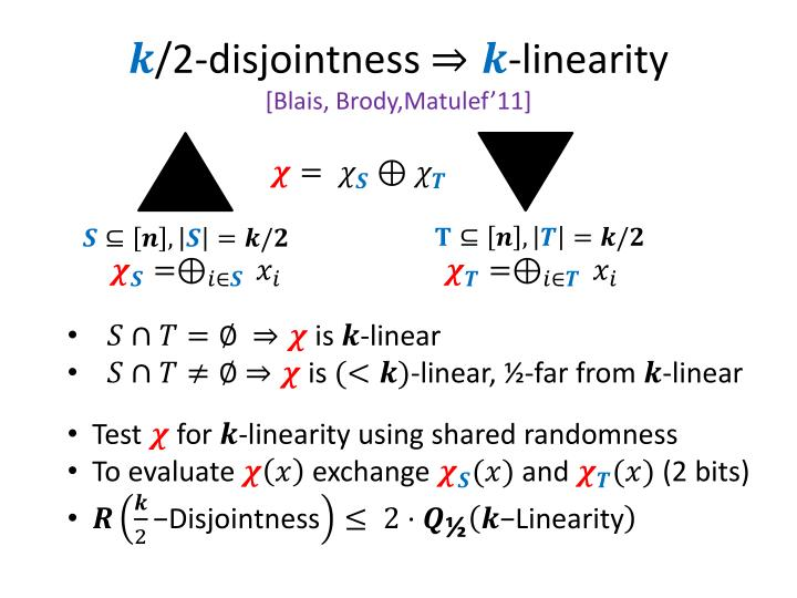 /2-disjointness
