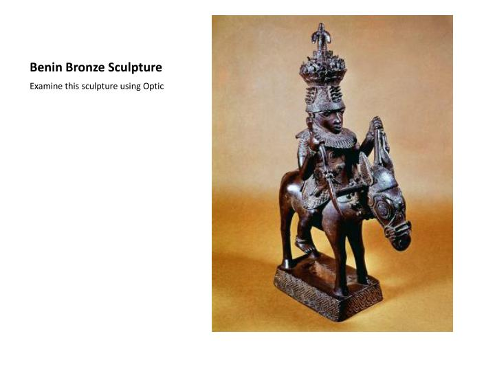 Benin Bronze Sculpture