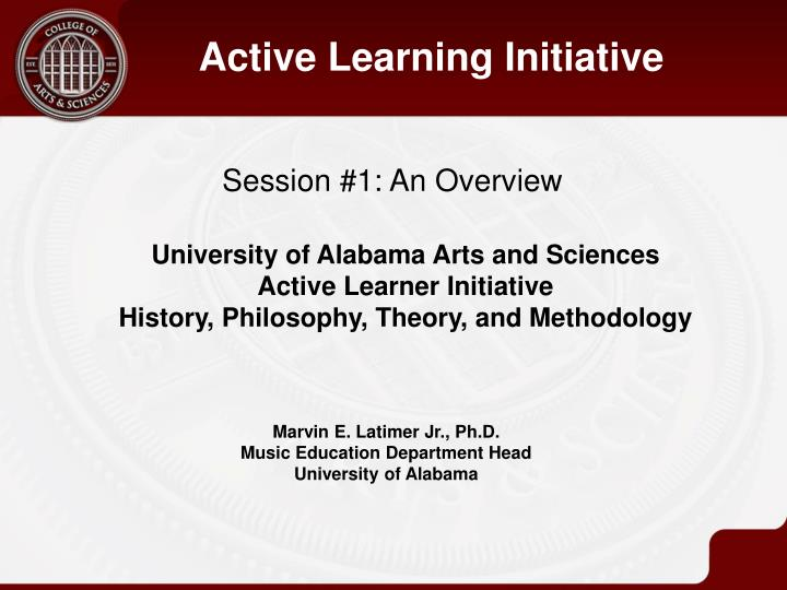 Active Learning Initiative