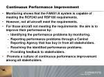 continuous performance improvement1