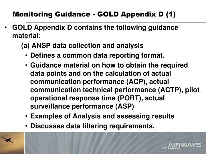 Monitoring Guidance - GOLD Appendix D (1)