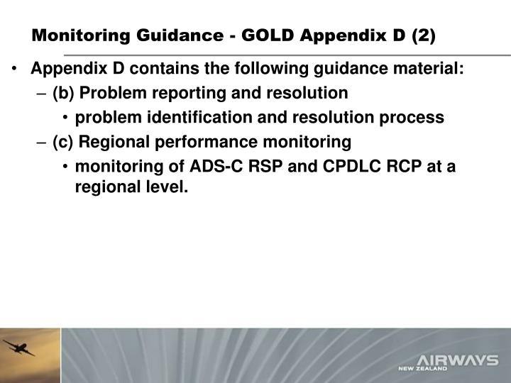 Monitoring Guidance - GOLD Appendix D (2)