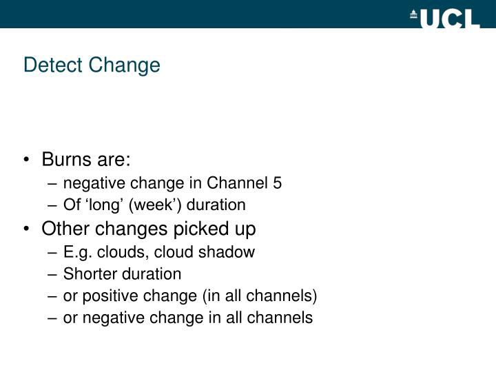 Detect Change