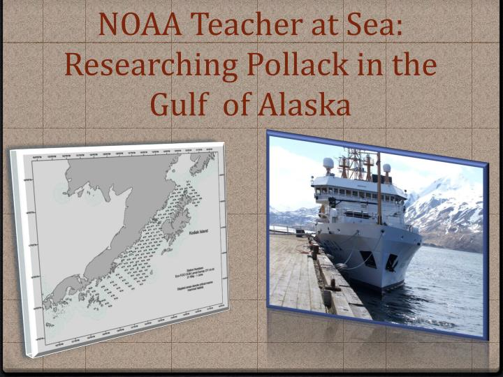 NOAA Teacher at Sea: