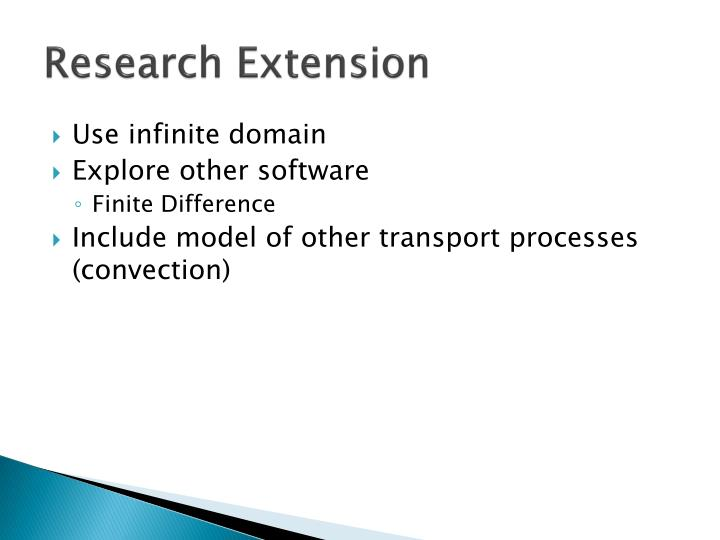 Research Extension
