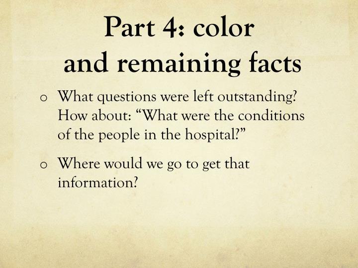 Part 4: color