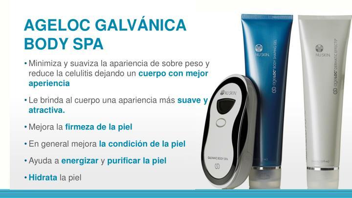 AGELOC GALVÁNICA BODY SPA