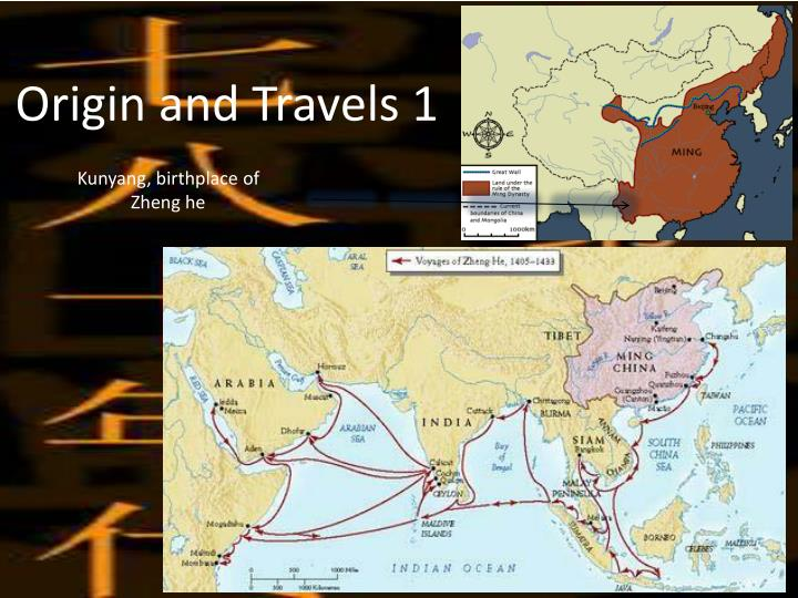 Origin and Travels 1