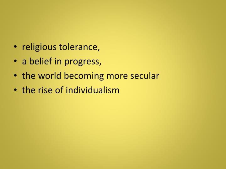 religious tolerance,