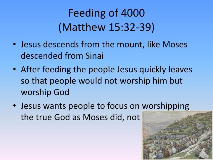 Feeding of 4000