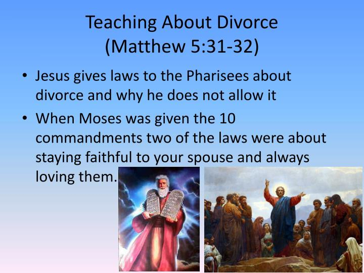Teaching About Divorce