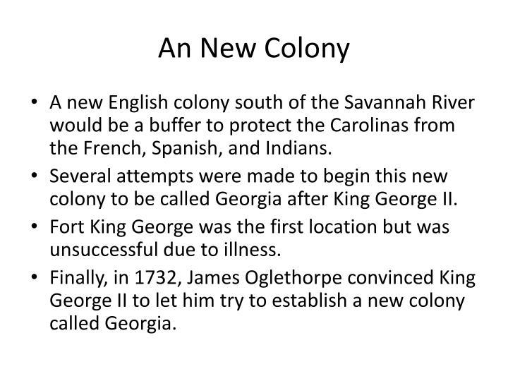 An New Colony