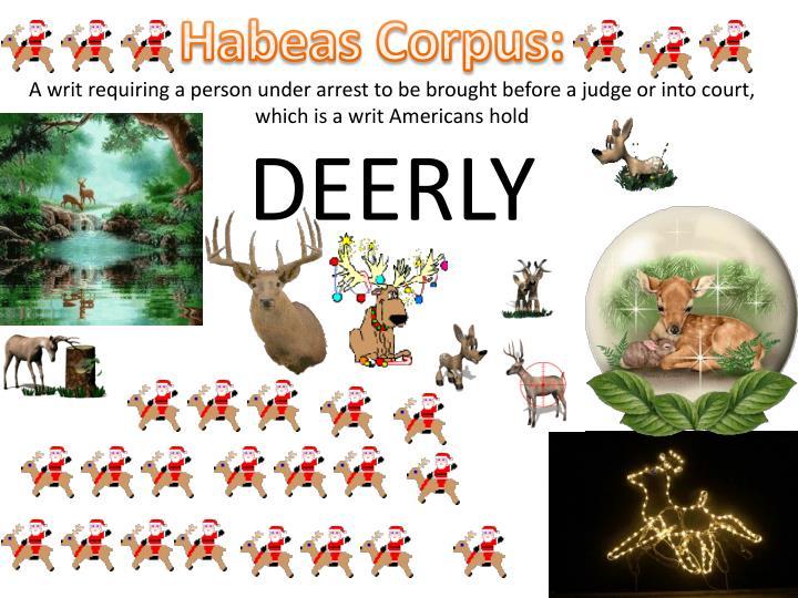 Habeas Corpus: