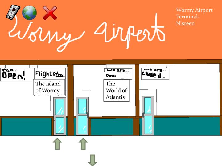 Wormy Airport Terminal- Nisreen