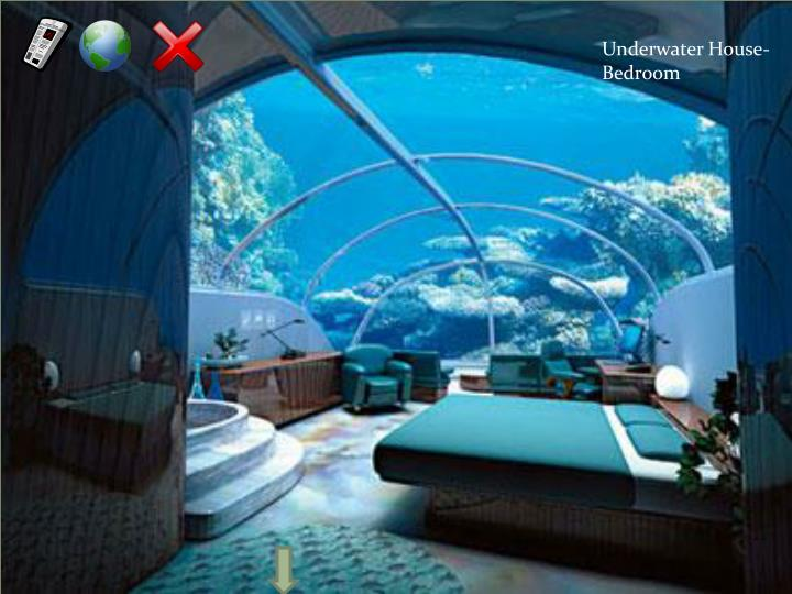 Underwater House- Bedroom